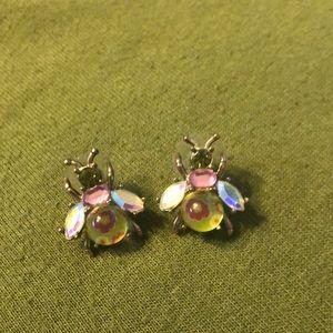Betsey Johnson Fly Earrings